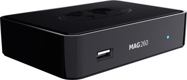 MAG 260 Micro IPTV multicast, HDMI 1,4A c программированым пультом д/у